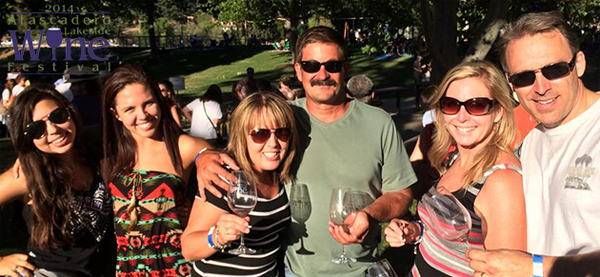 A photo from last year's festival. Courtesy of Atascadero Lakeside Wine Festival.