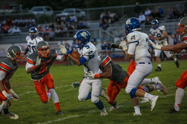 Atascadero football, Greyhounds, Carson Rinkenberger Rick Evans