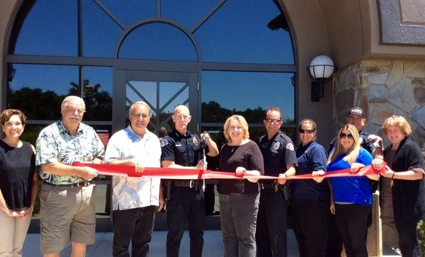 Atascadero Police Ribbon Cutting