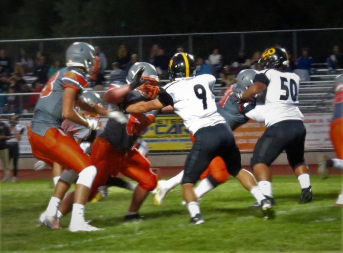Atascadero's strong defense contributed to their victory almost as much as their touchdown scoring.