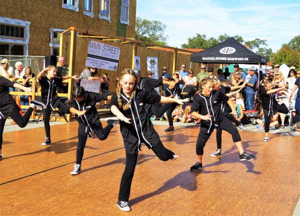The Junior level Main Street Dance Company members performed a hip-hop dance routine that brought tons of energy that electrified the audience.