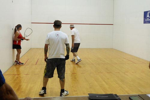 Champions will be offering free racquetball on Nov. 18 and 19.