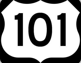 Flooding, rock-slides block lanes of Highway 101