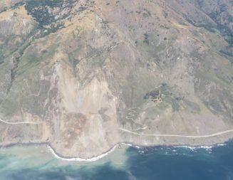 Mudslide wipes out massive portion of Highway 1