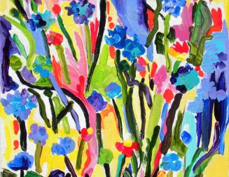 'Color in Bloom' show displayed at the Atascadero Library