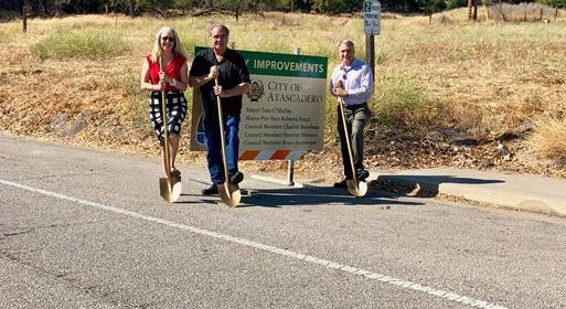 Road work atascadero