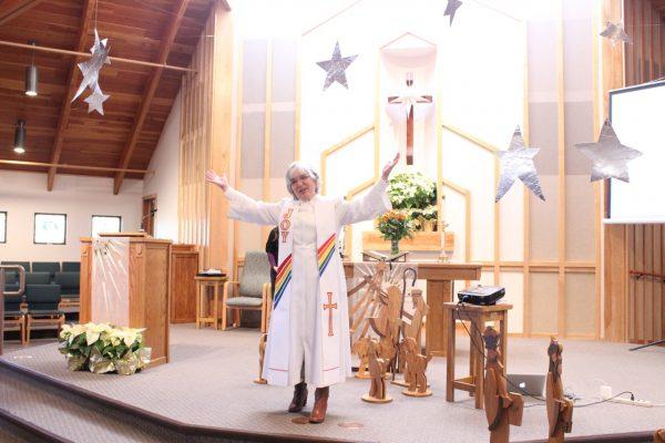 Pastor Diane Rehfield atascadero