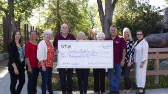 Atascadero Lakeside Wine Festival Committee gives $10k to Charles Paddock Zoo