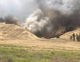 Update: McMillian Fire near Shandon at 95-percent containment
