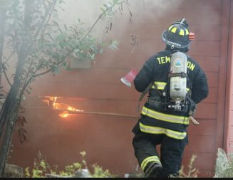 One injured, home destroyed in Templeton house fire