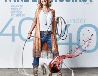 Amanda Wittstrom-Higgins of Ancient Peaks named in Wine Enthusiasts' 'Top 40 Under 40 Tastemakers'