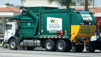 waste management truck atascadero