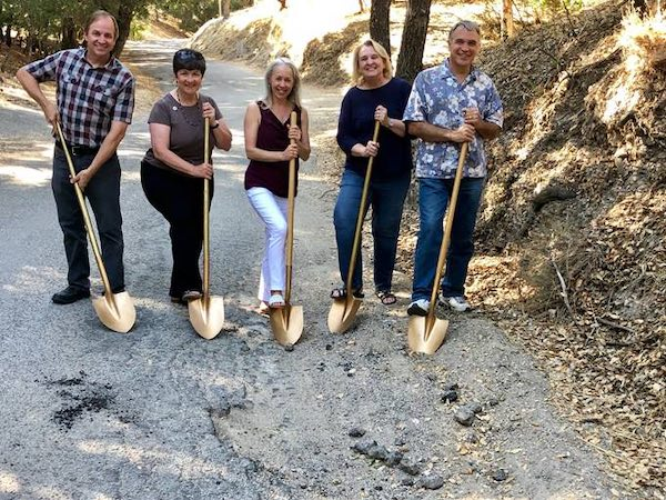 City holds groundbreaking ceremony for pavement rehabilitation road projects