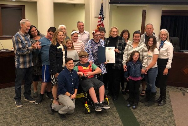 Don Clickard, Parents For Joy honored by City Council