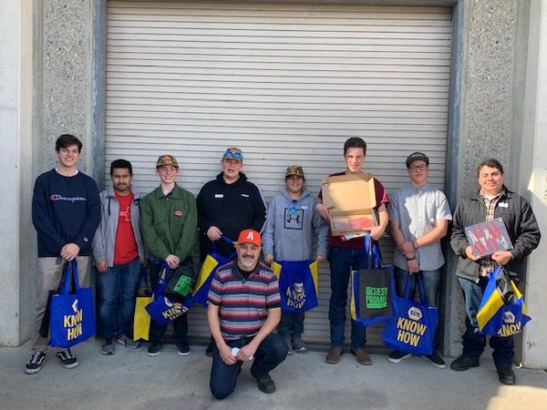 High school auto shop team competes at Cuesta