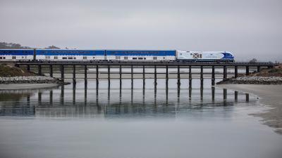 Pacific Surfliner resumes some service to the San Luis Obispo region