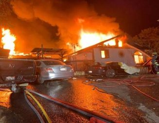Early morning fire destroys home in Atascadero