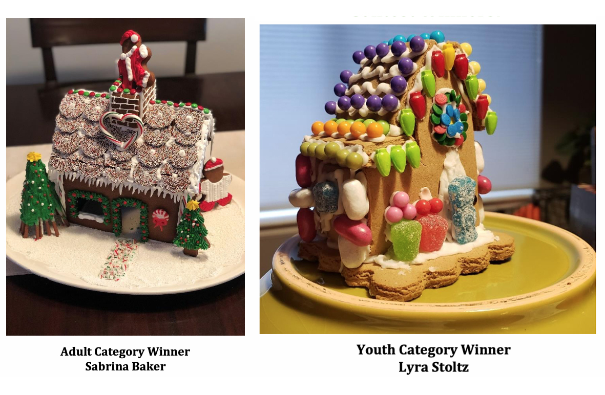City announces virtual gingerbread house contest winners