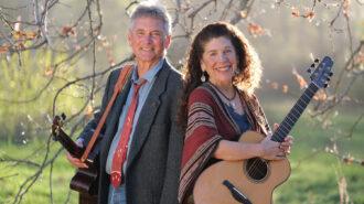 Folk duo Alisa Fineman & Kimball Hurd