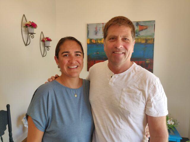 John Merrick and Daniela Medrano