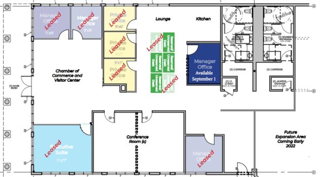 July BridgeWorks Office Layout