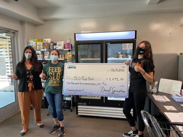Perfect Union SLO Food Bank Donation