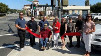 Traffic Way receives pedestrian and accessibility improvements