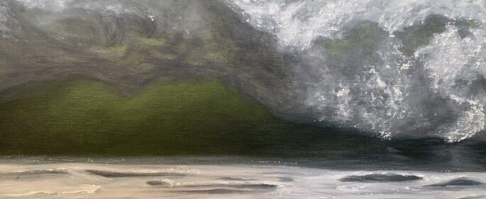 Patricia Newton Oil Painting