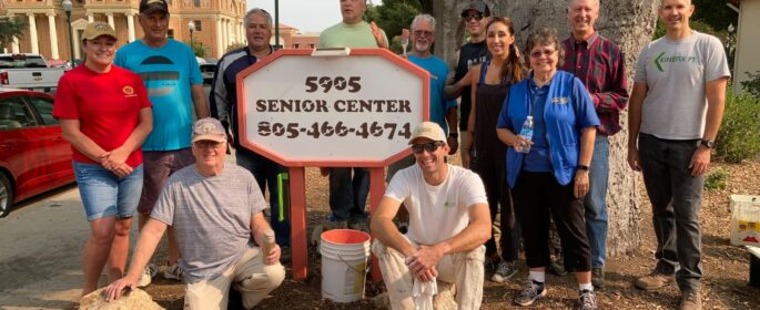Atascadero Senior Center Repainting Group